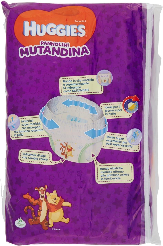 Huggies Mutandina Windel 15-25 Kg 2 Packungen /à 30 St/ück Gr/ö/ße 6