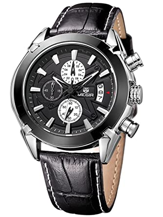 04f90ad4c76 Addic The Professional Chronometer Watch With 3D Sculpted Black Round Dial  For Men s   Boys
