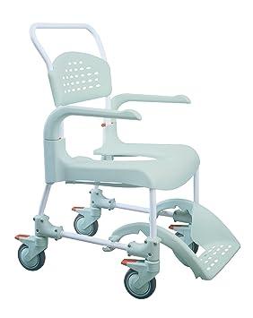 Etac Clean - Silla de ruedas para ducha (asiento de 55 cm): Amazon.es: Salud y cuidado personal