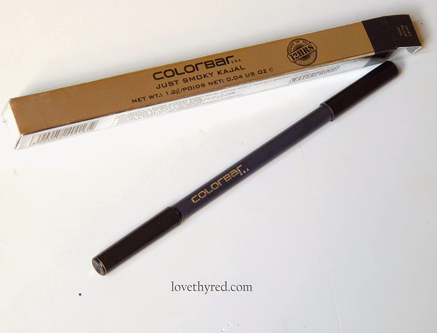 Colorbar Just Smoky Kajal, Just Black