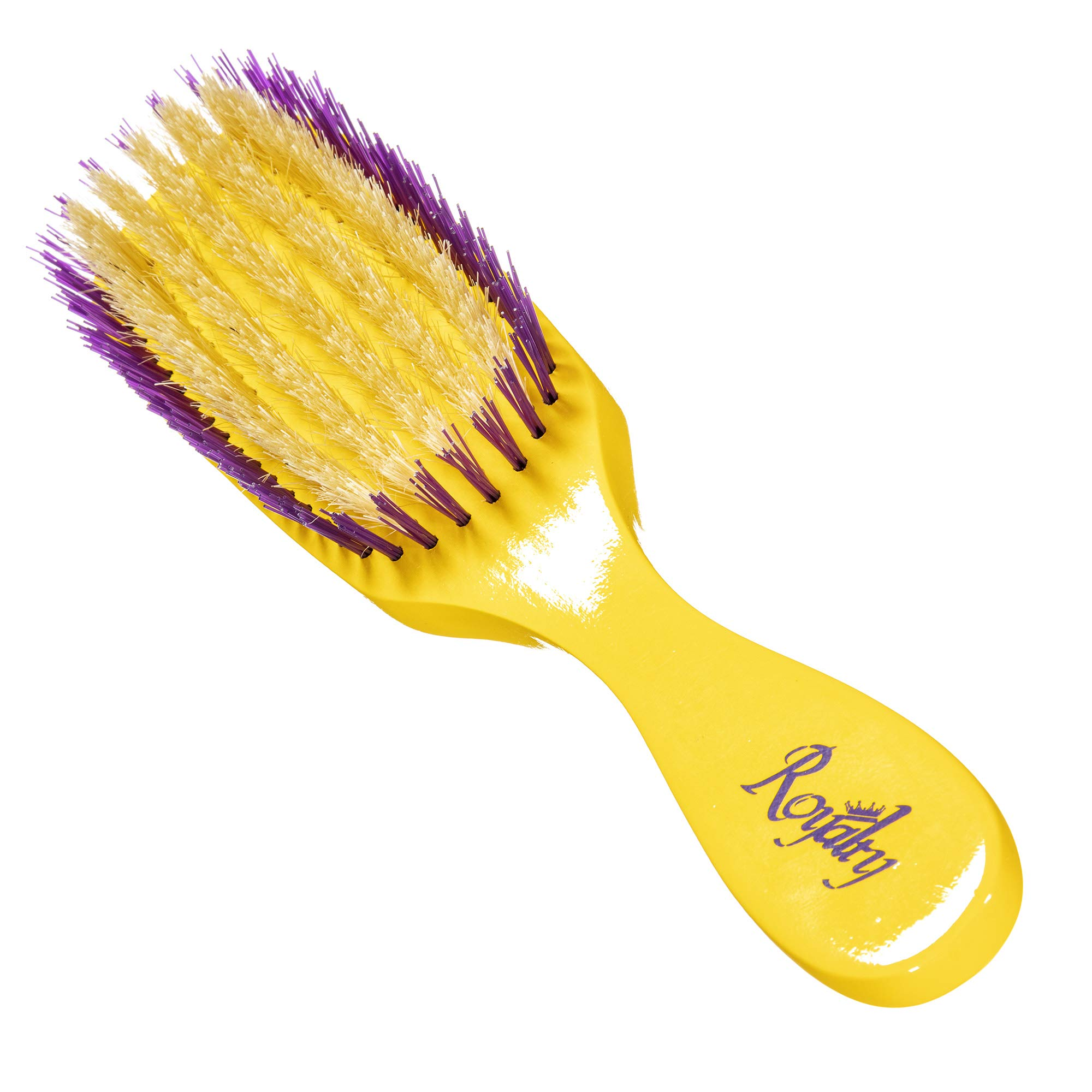 Royalty By Brush King Wave Brush #710- Reinforced Medium Waves Brush - From The Maker Of Torino Pro 360 Wave Brushes