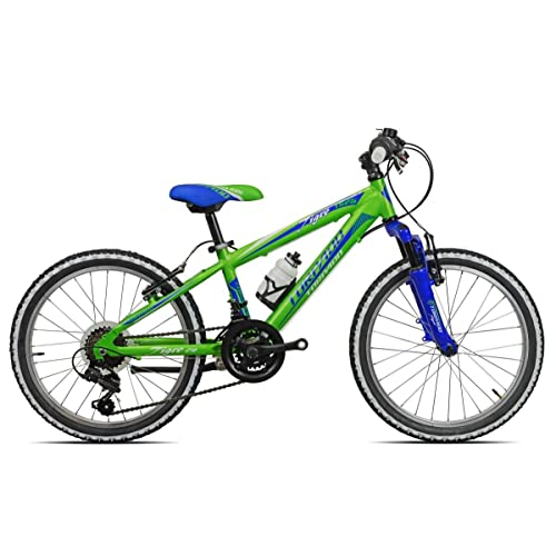 "'Torpado vélo VTT Junior Tigre 20""2x 6V Vert Bleu (enfant)/Bicycle VTT Junior Tigre 202x 6s green blue (Kid)"