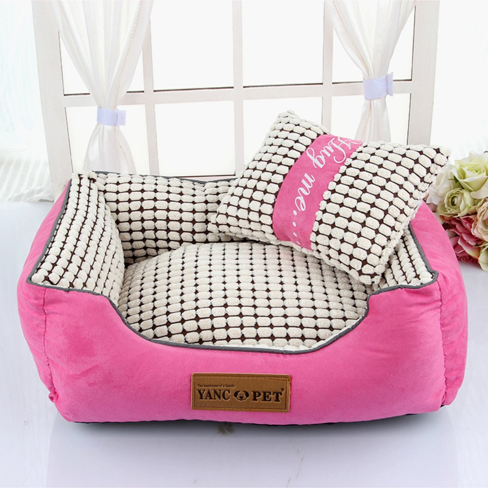 Washable dog Kennel small dog Autumn and winter dog bed-B 40x30cm(16x12inch)