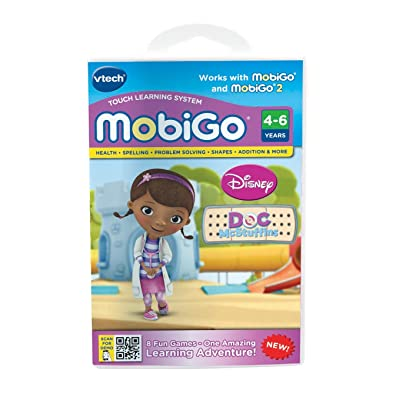 VTech MobiGo Software Cartridge - Doc McStuffins: Toys & Games
