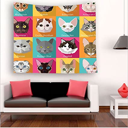 nalahome-ection Popular razas de gatos birmana Abisinio Sphynx noruego bosque turquesa amarillo rosa marrón