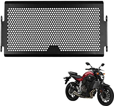 Radiator Grille Guard Cover Protector Motorcycle For Yamaha MT07// FZ07 2013-2017