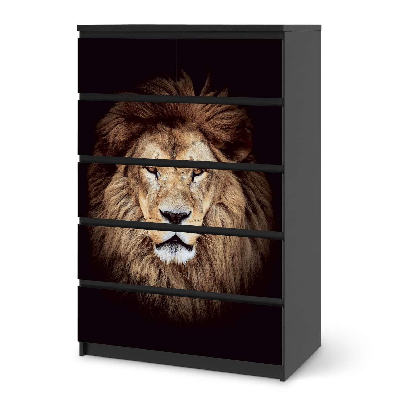 Möbel-Aufkleber IKEA Malm 6 6 6 Schubladen (breit) Design Sticker Wooden Wohnungs-Dekoration B011CSWNV2 Mbelsticker 081852