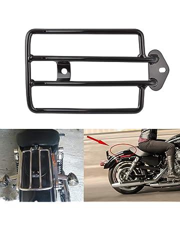 XMT-MOTOR Selle de moto monoplace noire adapt/ée pour Harley Yamaha Kawasaki Sportster Bobber Chopper et application personnalis/ée