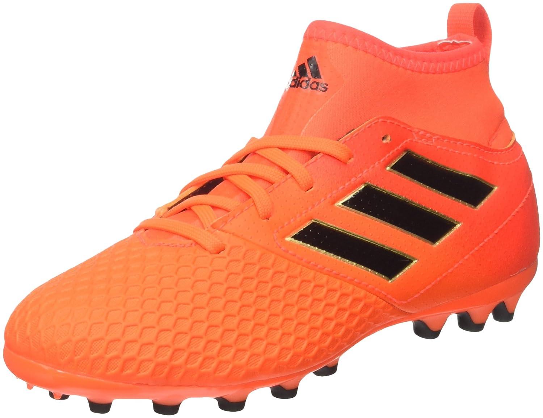 Adidas Unisex-Kinder Ace 17.3 Ag Fußballschuhe, Rosso,Nero