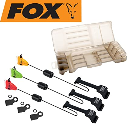 Fox Indicateur Micro 3 Rod Set: Amazon.es: Deportes y aire libre
