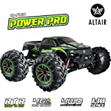 1:10 Scale RC Truck 4x4 - 48+ kmh Speed [30 MPH] Large Scale Remote Control Car - All Terrain Waterproof Radio…