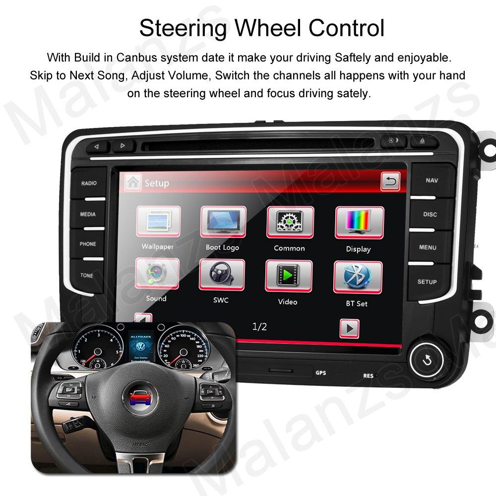 Amazon.com: Radio de coche DVD GPS navegación para VW Jetta ...