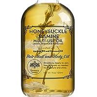 Honey Suckle Jasmine Multi-Use Oil for Face, Body & Hair - Hydrates Skin & Restores...