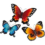 Miles Kimball Metal Butterflies By Maple Lane Creations   Set Of 3