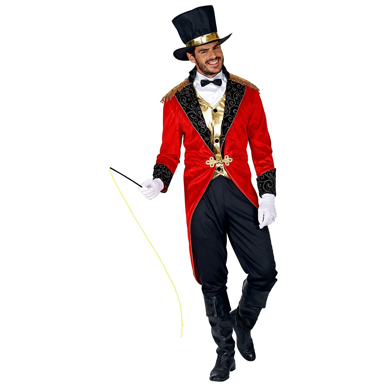WIDMANN Disfraz de director de circo 09551, para hombre, negro ...