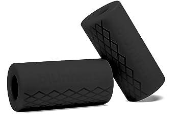 Blunivers - Agarres gruesos para levantamiento de pesas – accesorio de entrenamiento de barra de grasa