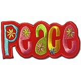 Rojo Paz ' ' 10.8 x 5.2 cm ' - Parche Termoadhesivos Bordado Parches Para La Ropa Termoadhesivo Apliques Iron on Patch Catch The Patch