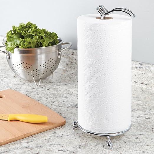 InterDesign Classico Küchenpapierrollenhalter | Küchenrollenhalter ...