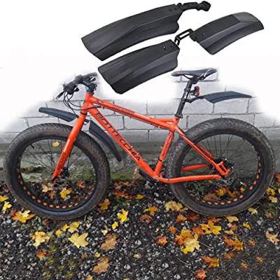 2PCS Bicycle MTB Mountain Cycling Bike Front Rear Mud Guard Fenders For Fat Tire
