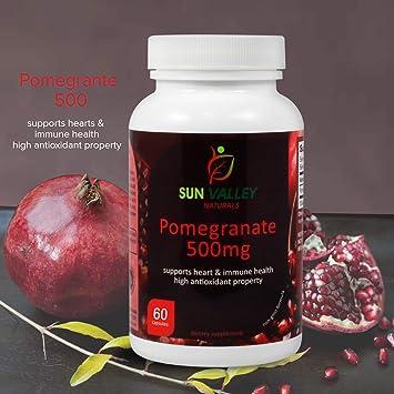 Amazon.com: Sun Valley Naturals Pomegranate Suplemento ...