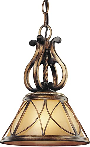 Minka Lavery Island Pendant Ceiling Lighting 4751-206, Aston Court Mini Cone, 1 Light, 100 Watts, Bronze