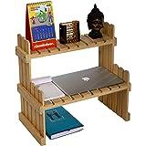 Comfy DIY - Takuya Wall Shelf Cum Decorative Unit -Wood Modern Design - Elegant Finish (Color : Natural Wood)