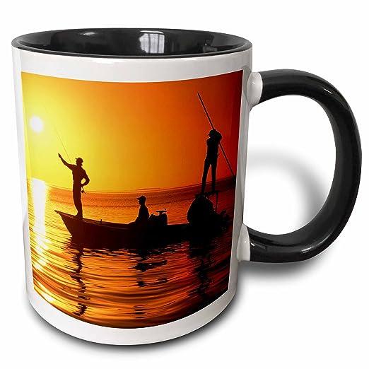 Buy 3drose Danita Delimont Fishing Flatboat Fly Fishing Islamorada Florida Keys Us10 Dpb0009 Douglas Peebles 11oz Two Tone Black Mug Mug 89082 4 Online At Low Prices In India Amazon In