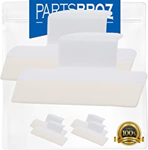 154701001 Splash Shield Kit (2-Pack) by PartsBroz - Compatible with Kenmore Dishwashers - Replaces 1465007, 154685101, AH2203346, EA2203346, PS2203346