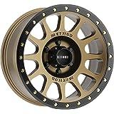 METHOD MR305 NV BRONZE FACE MATTE BLACK SIMULATED BEADLOCK 17X8.5 6X5.5 6X139.7 0mm OFFSET