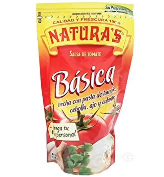 Naturas Basic Sauce 8.0 oz - Salsa Basica (Pack of ...
