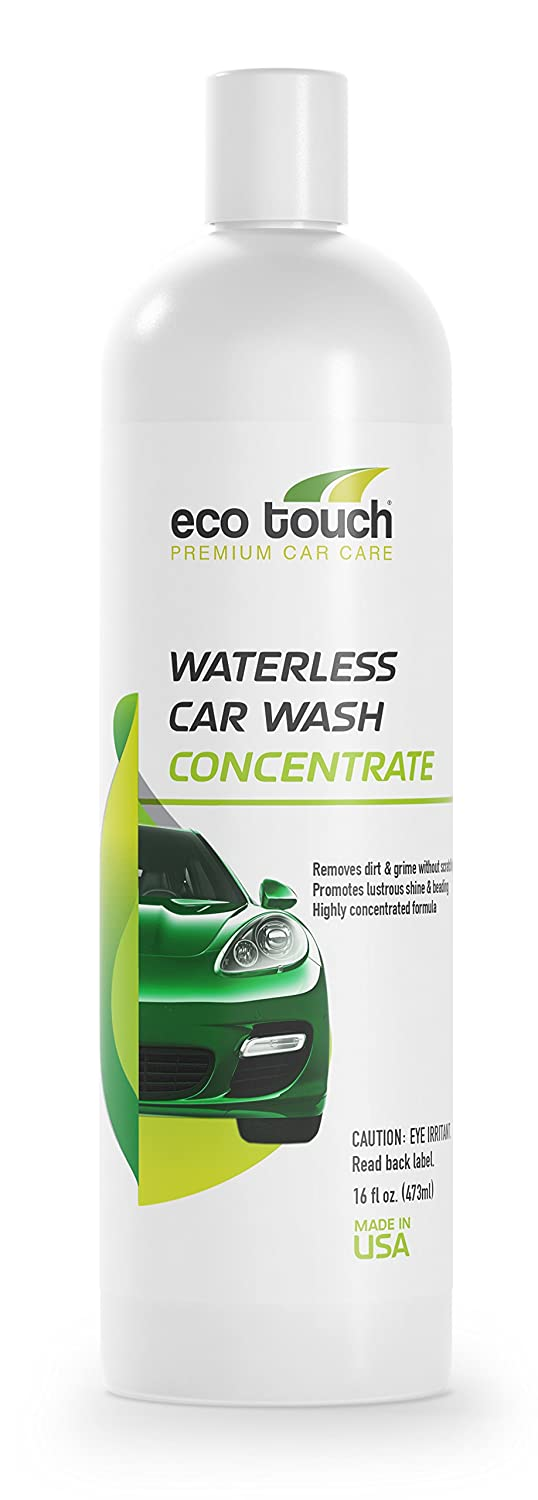 Eco Touch WCW16C Waterless Car Wash Concentrate, 16-Ounce