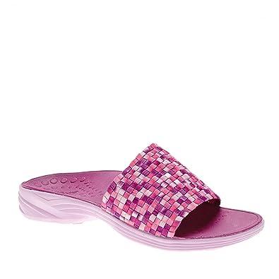 80b28303b637 Vionic Serene Kitts - Womens Active Slide Sandal Berry - 5