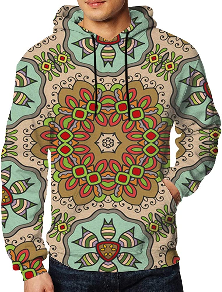 Colorful Patchwork Hand African Beauty Fashion Mens 3D Printed Pullover Long Sleeve Hooded Sweatshirts with Pockets
