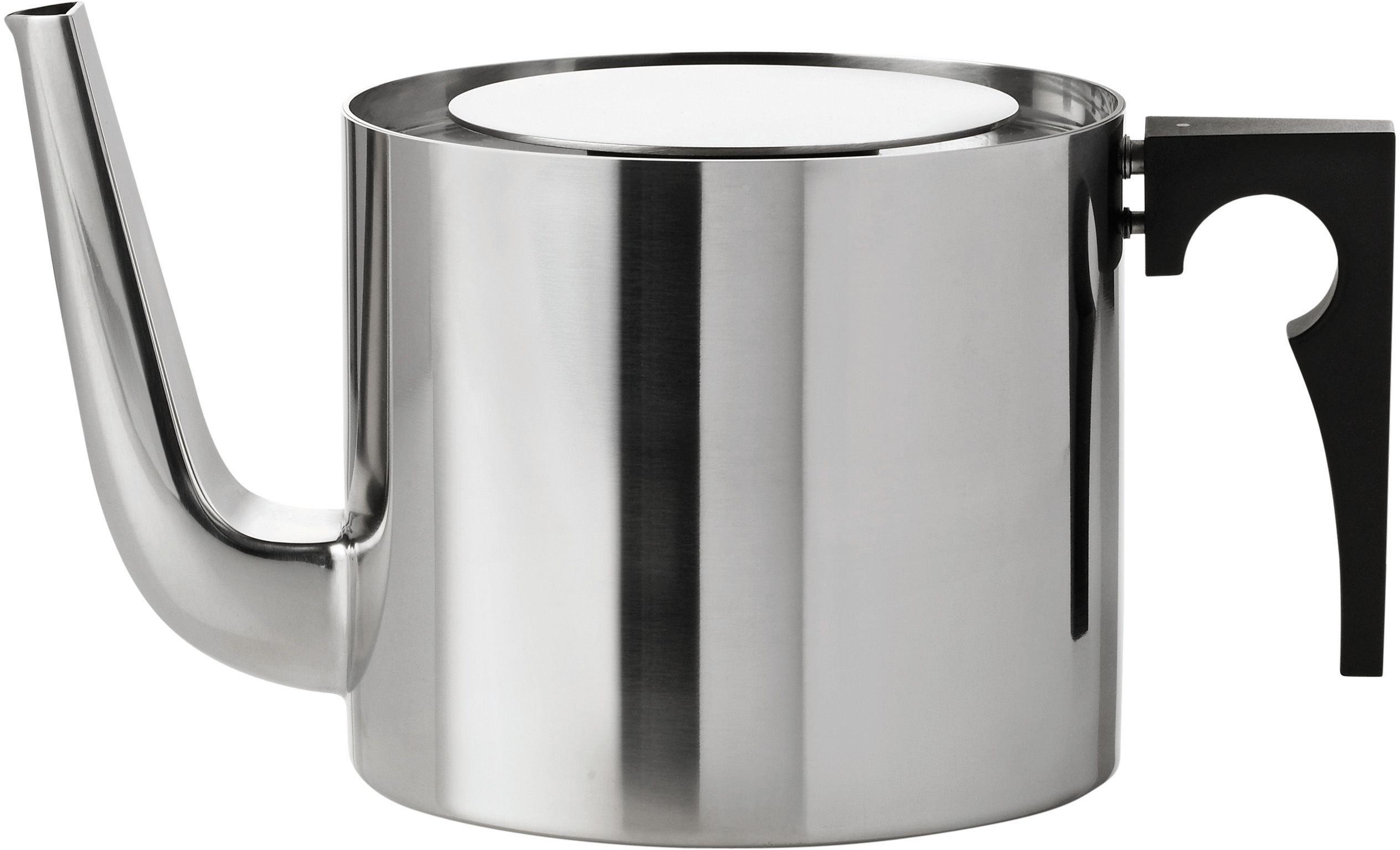 Stelton Arne Jacobsen tea pot, 42.3 oz