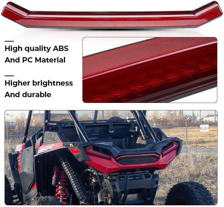 Brake Light TURBO Red For Polaris SPORTSMAN 850 1000 XP 2018 2019 RZR 1000XP Center Taillight