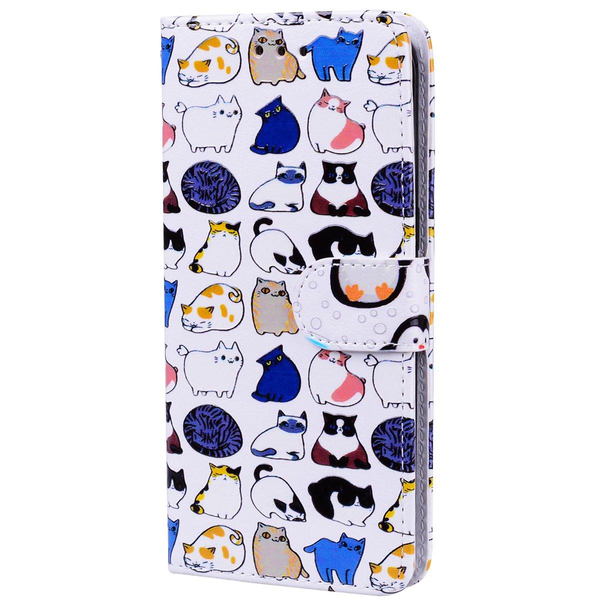 Cozy Hut S7 Edge Hü lle,Galaxy S7 Edge Hü lle,Samsung S7 Edge Hü lle,Samsung Galaxy S7 Edge Leder Wallet Tasche Brieftasche Schutzhü lle, Lederhü lle Leder Tasche Case Cover fü r Samsung Galaxy S