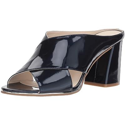 Kenneth Cole REACTION Women's Limora Heeled X-Band Slide Sandal   Heeled Sandals