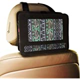 """CycleMore New Car headrest mount strap holder case for 9""""inch portable DVD player"""
