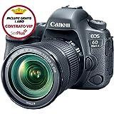 Canon EOS 6D Mark II Fotocamera Digitale Reflex con Obiettivo EF 24-105mm f/3.5-5.6 IS STM, Nero