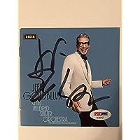 $100 » Jeff Goldblum Autograph Cd Cover Rare Autographed Signed Memorabilia Coa PSADNA # Ae 86427