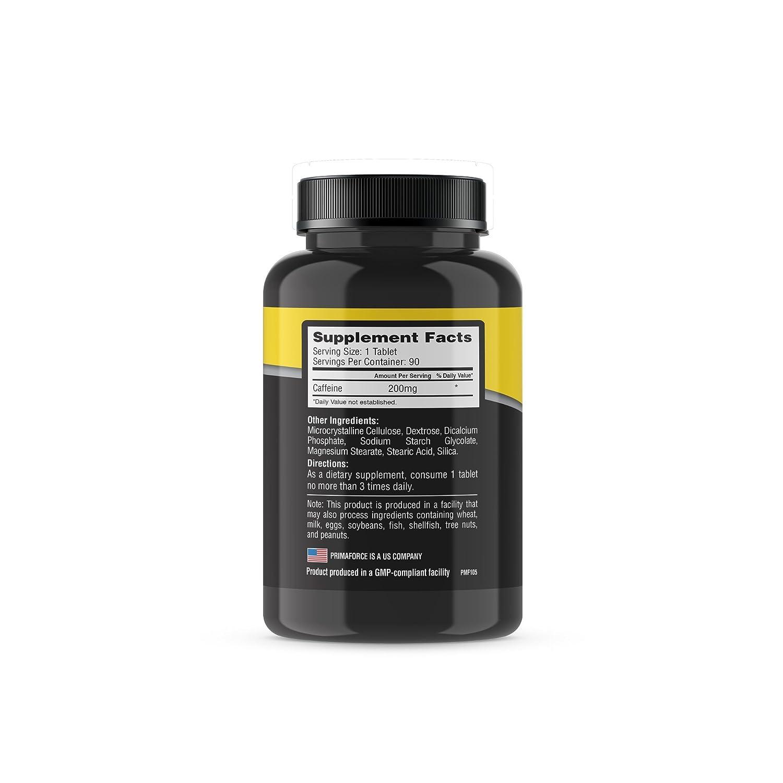 Primaforce Caffeine, 90 Count by Primaforce: Amazon.es: Salud y cuidado personal