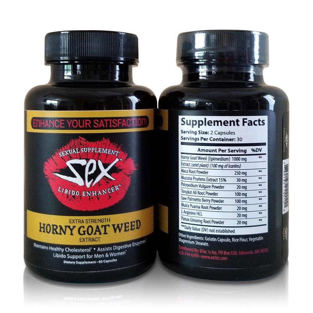 Amazon.com: Horny Goat Weed Extracto – Extra fuerza natural ...