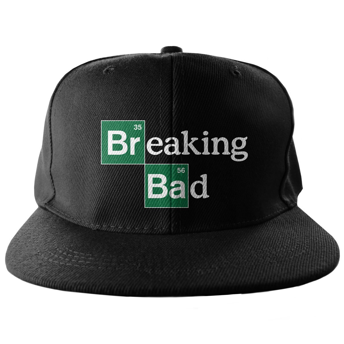 Breaking Bad Baseball Cap Snapback Cap Logo Embroidered Official Black at Amazon Mens Clothing store: