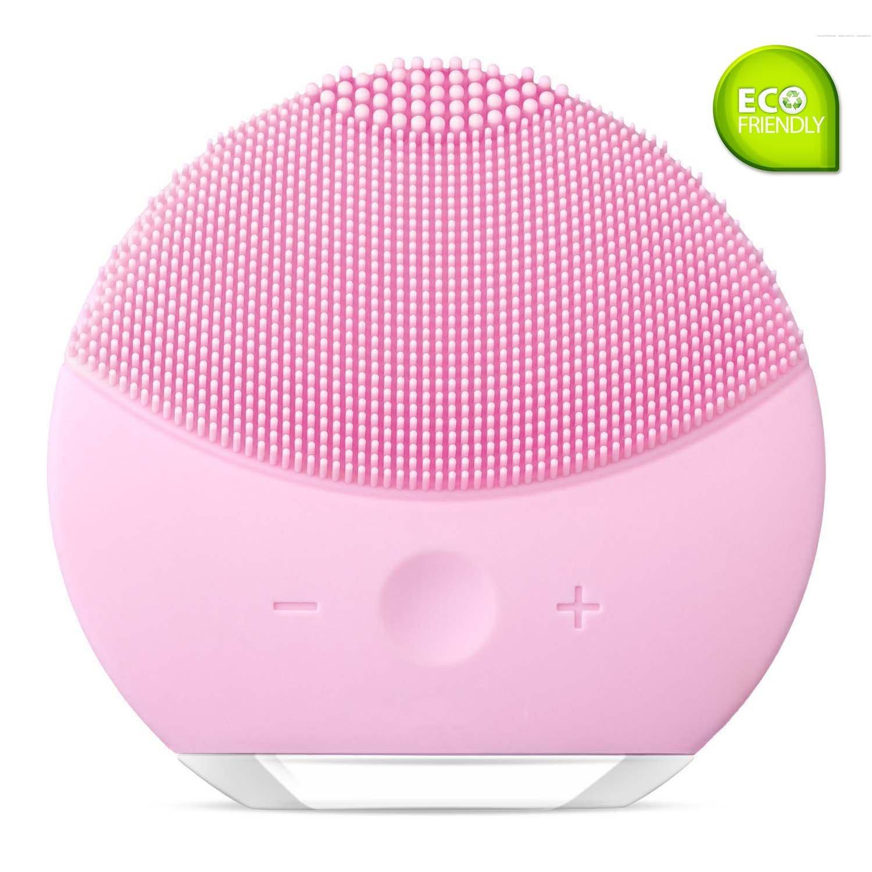 Osla spazzola di pulizia del viso–silicone vibrante, impermeabile, ricaricabile, per la pulizia e il massaggio del viso, esfoliante, anti-acne, anti-età.