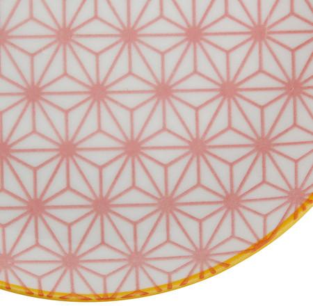 Tokyo Design Studio Starwave Side Plate - Star - Pink/Yellow at Amara