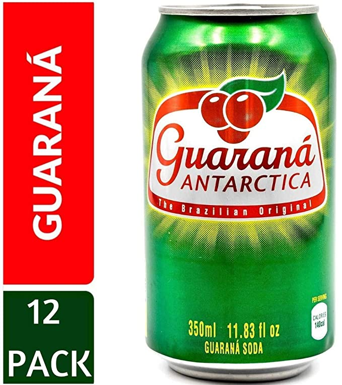 Guarana Antarctica 11.83 oz. (350ml) (Pack of 12): Amazon.es ...