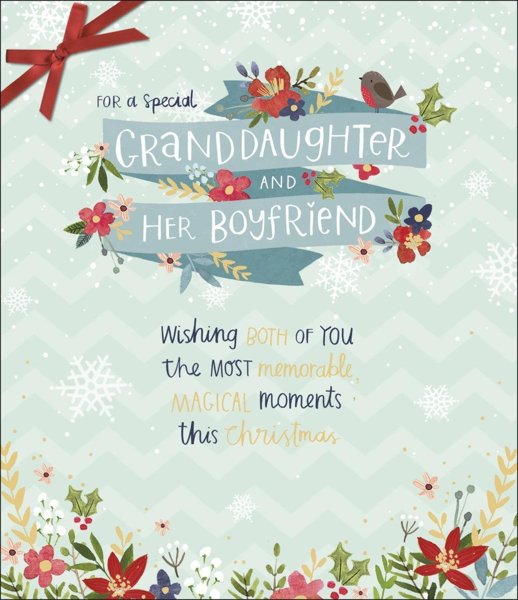 Amazon.com: For A Special Granddaughter And Her Boyfriend - Greeting ...