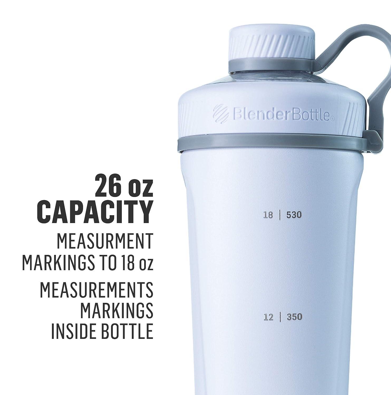 BlenderBottle Radian Insulated Stainless Steel Shaker Bottle, Matte Black,  26-Ounce - C02090