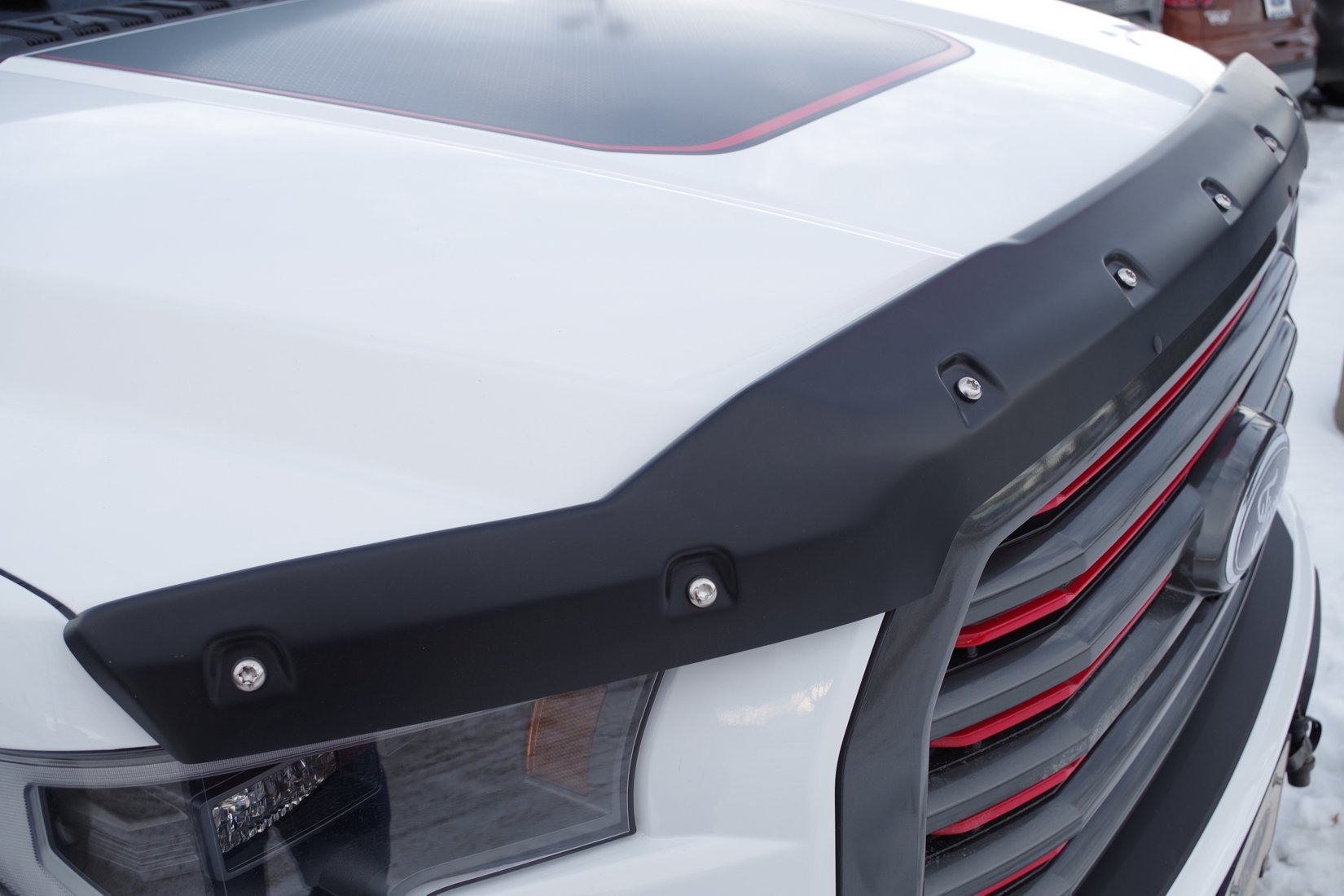 Tough Guard Hood Textured Protector for Ford F-150 2015+