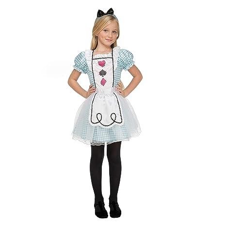 My Other Me Me-204092 Disfraz pequeña Alicia para niña, 5-6 años ...